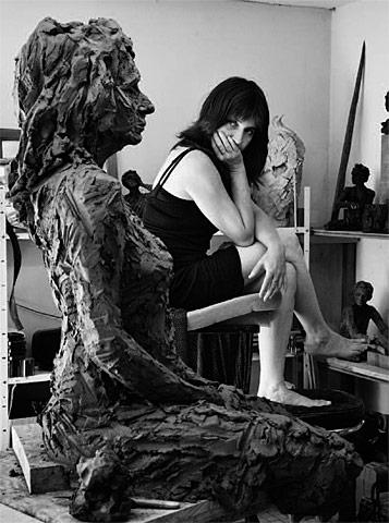 Avec Hélène C. - @Jean Gaumy 2009