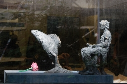 Garçon à l'omble commun (avec Aymeric) - 2014 - collection privée