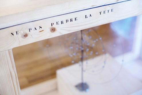 Ne pas perdre la tête (détail) - Musée des Arts et Métiers - Paris, 2018